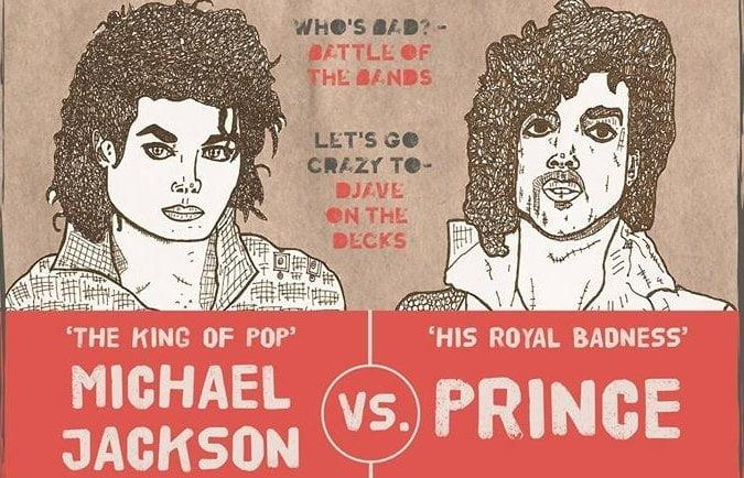 Prince vs Michael Jackson - 22nd February - Hackney Attic 6