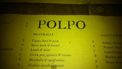 Polpo - Covent Garden - Review 23