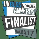 UK Blog awards finalist 2017