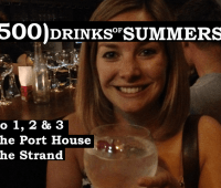 The Port House The Strand - No 1, 2 & 3 of 500 Drinks of Summers 15