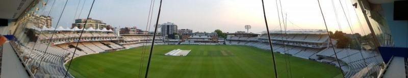 Panoramic view from the iconic media centre - Lord's Cricket