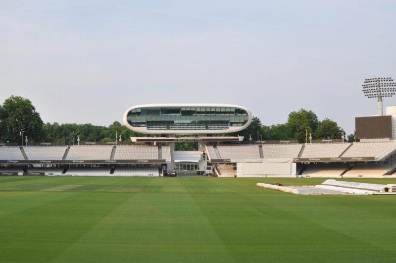 Lord's pitch and Media Centre