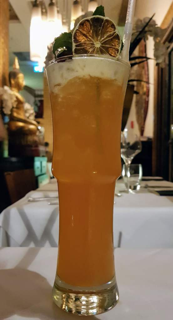 Thai Square Iced tea cocktail