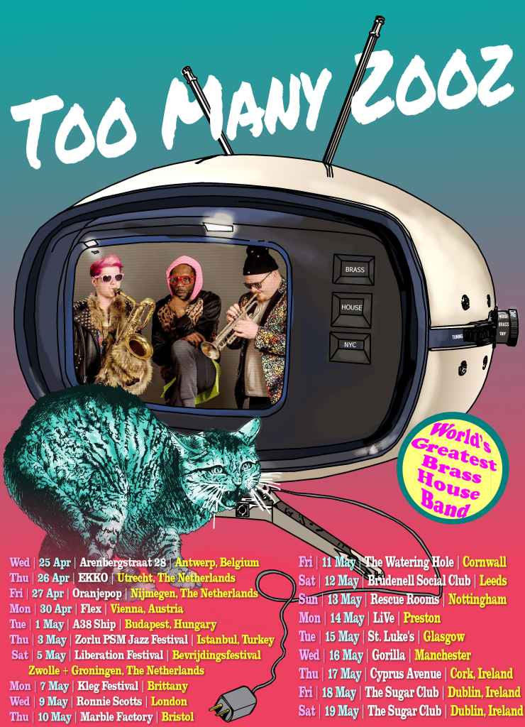 New York Subway Sensation 'Too Many Zooz' to Tube it in London 1