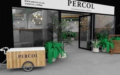Percol Coffee brings 'The World's Most Sustainable Coffee Shop Pop-up' to Shoreditch 21