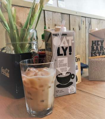 You'll want to try these Oatly treats @ Max's Sandwich Shop 20