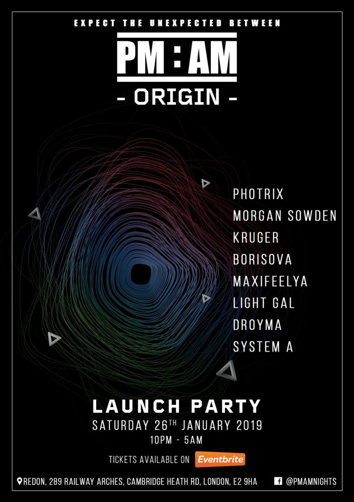 Expect the unexpected between PM and AM - Launch Party 10