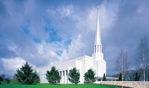 Preston England LDS Temple