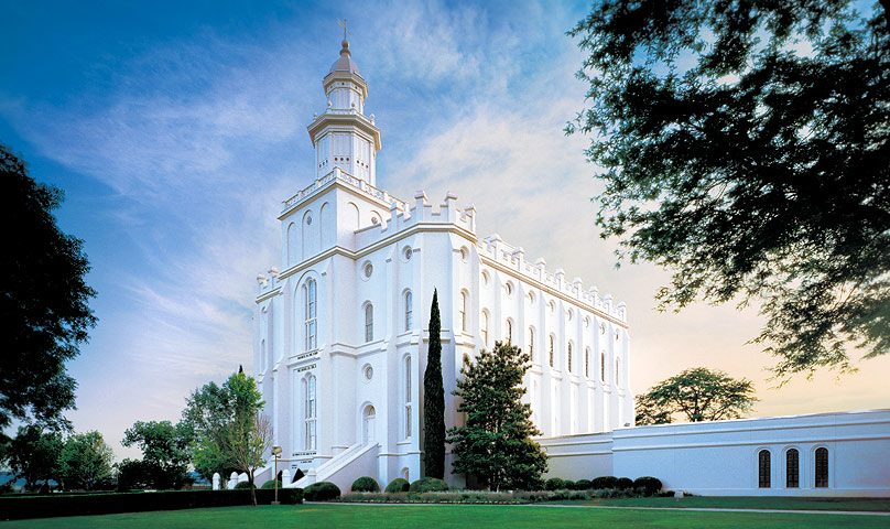 St. George Utah LDS Temple