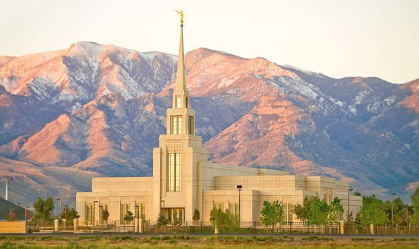 The Gila Valley Arizona LDS Temple