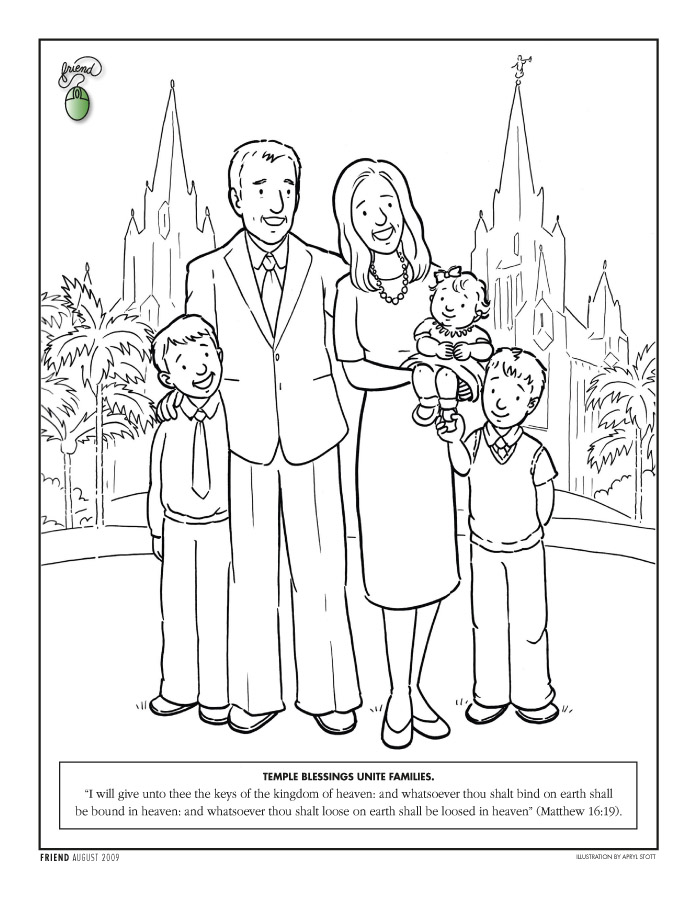 coloring page lds temple coloring pages verdao co