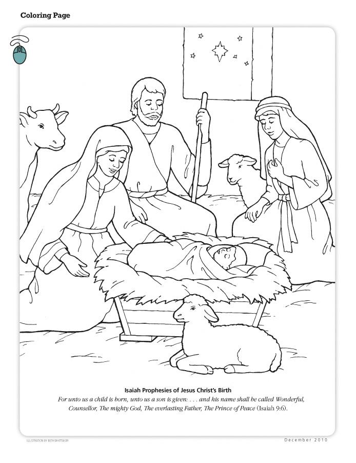 isaiah prophesies of s birth