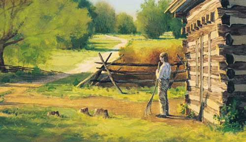 Joseph Smith Jr. family cabin