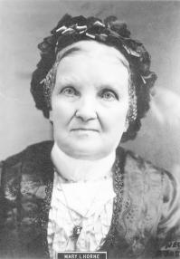 Mary Isabella Horne testifies of plural marriage