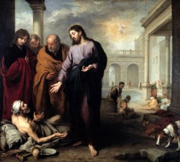 Healing the paralytic (1670), by Murillo