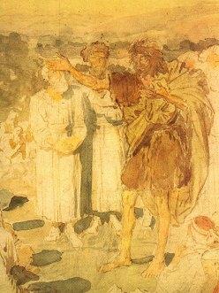 Sermon of John the Baptist, Alexandr Ivanov