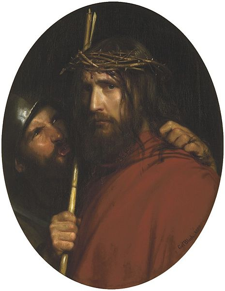 The Mocking of Christ by Carl Heinrich Bloch