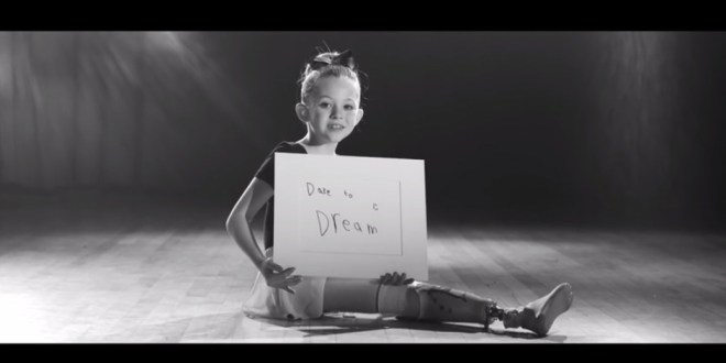 "This Amputee Ballerina Reminds Us to ""Dare"" In New Music Video"