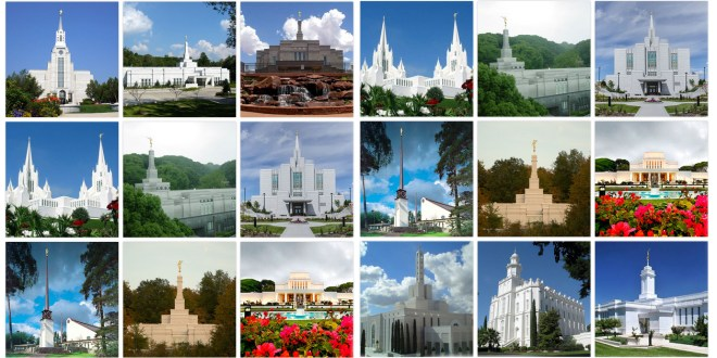 Can You Name These LDS Temples