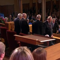 Elder Perry's Funeral