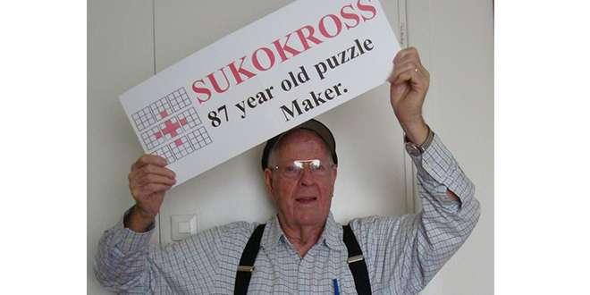 87-Year-Old Mormon Man Creates Sudoku Hybrid Puzzle