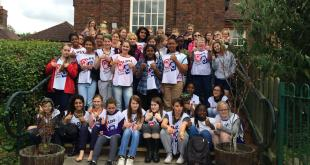 LDS Youth in England Paint Local Academy as Service