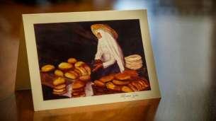 Elder Scott's card to President Nelson.