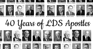 This Epic Chart Shows 40 Years of LDS Apostles and Prophets