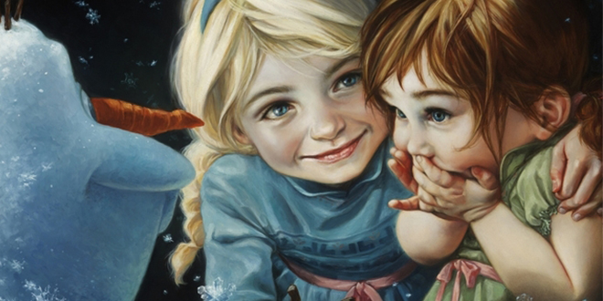 LDS Artist Commissioned by Disney to Create Beautiful Character Portraits