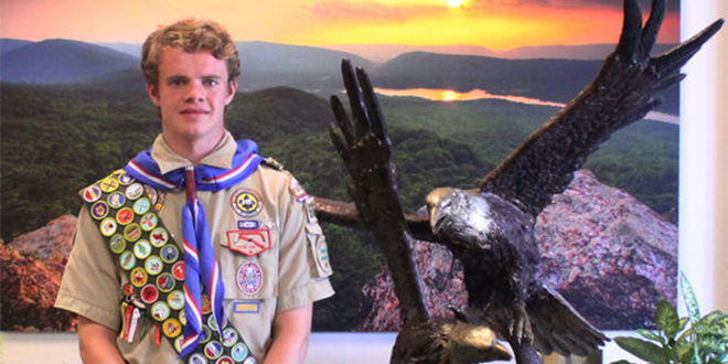 LDS Boy Scout in Virginia Earns All 141 Merit Badges