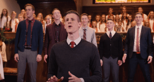 """BYU Vocal Point Releases Original Christmas Carol, """"One Single Bell"""""""