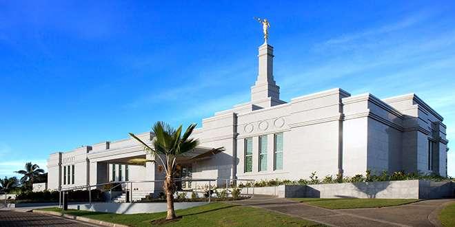 Fiji Mormon Temple Opens its Doors to the Public