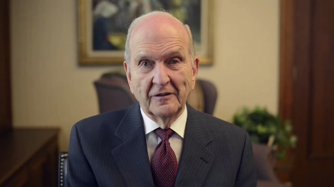 President Russell M. Nelson Offers Personal Message to Young Adults