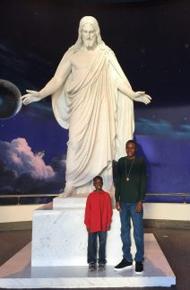 Joseph and Bronson at Christus