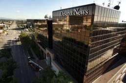 Deseret News building in Downtown Salt Lake City.