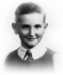 President Monson as a young boy.