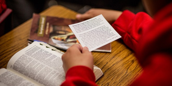 """""""Doctrinal Mastery"""" to Replace """"Scripture Mastery"""" Program"""