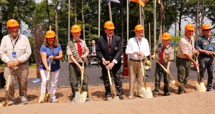 Ground Broken on Scouting Complex Named After President Monson