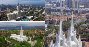 See Every California LDS Temple From the Sky With Beautiful Drone Footage