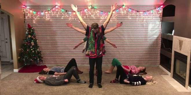 8 LDS Siblings With Viral Christmas Videos Strike Again