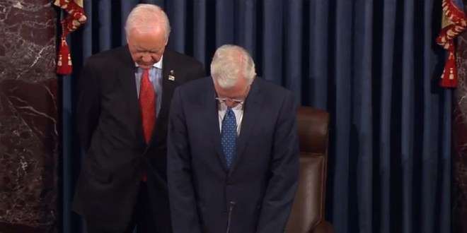 Elder Christofferson Offers Prayer in U.S. Senate