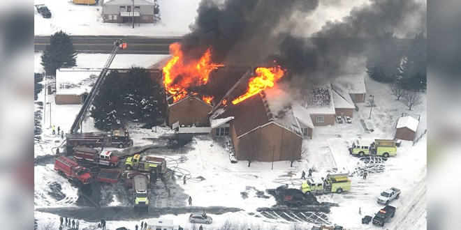 Watch the Heartbreaking Live Stream of an LDS Chapel Burning Down in Idaho