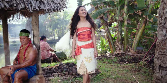 Polynesian Cultural Center Featured in Real-Lief Moana Video
