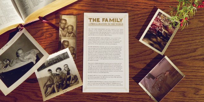 """""""The Family: A Proclamation to the World"""" Is Now Available as a Bookmark"""
