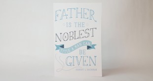 Here's a Free LDS Father's Day Card