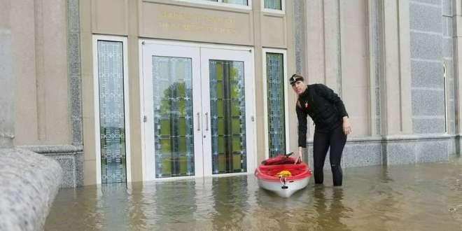 LDS Church Issues Update on Hurricane Harvey