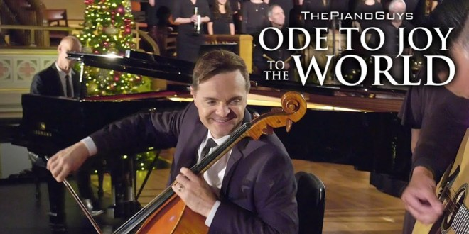 """The Piano Guys' """"Ode to Joy To The World"""" Inspired By Tragedy"""