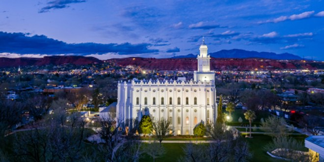 St. George Temple Vandalized Early Saturday Morning