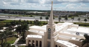Watch Beautiful Footage of Fort Lauderdale Temple