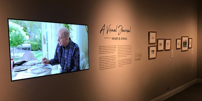 President Eyring's Watercolor Paintings on Display at Church History Museum